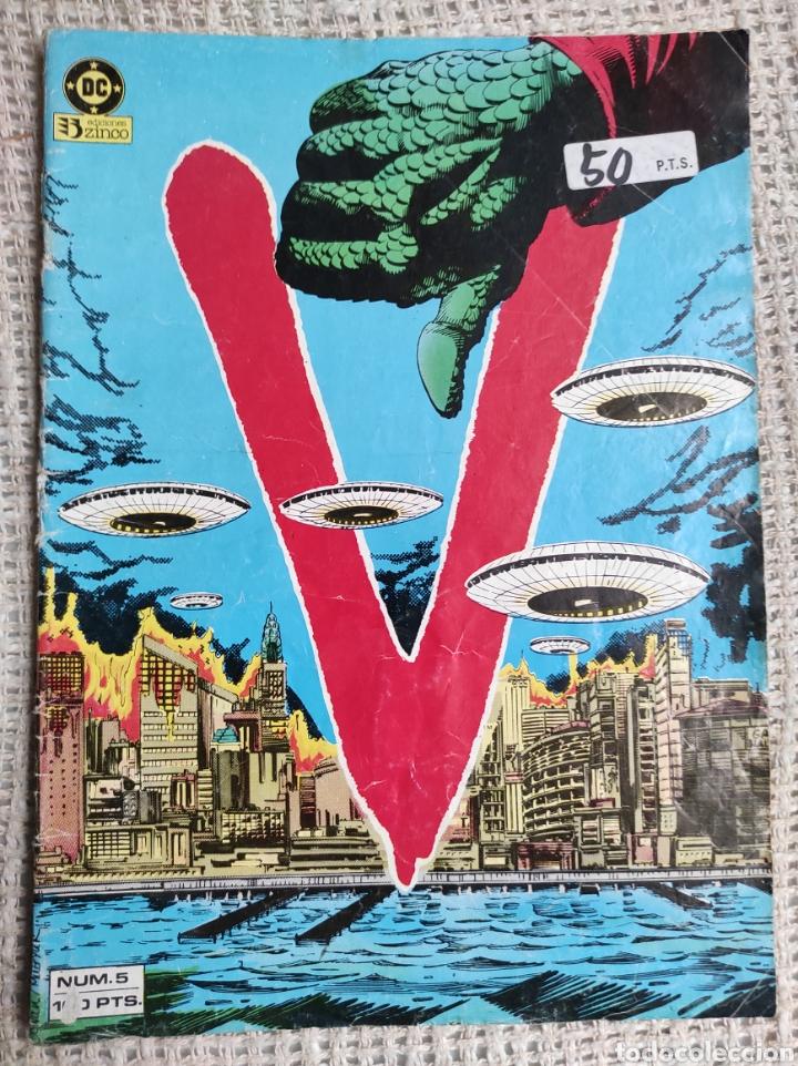 V - COMICS SERIE DE TELEVISION Nº 5 EDITA : ZINCO DC (Tebeos y Comics - Zinco - Otros)