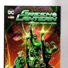 Cómics: GREEN LANTERN : LA IRA DEL PRIMER LANTERN - ECC / DC / TAPA DURA. Lote 215830522