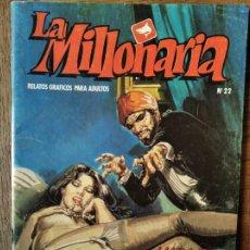 Comics : LA MILLONARIA Nº 22 - ZINCO COMIX- EL SANTON INDU. Lote 215918050