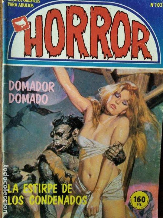 HORROR Nº 103 - ZINCO COMIX- LA ESTIRPE DE LOS CONDENADOS (Tebeos y Comics - Zinco - Otros)