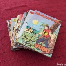 Cómics: ZAGOR - KEN PARKER - MISTER NO-LOTE DE 15 COMIC( 5 DE CADA TITULO)BUEN ESTADO. Lote 216431332