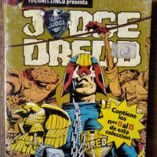 Cómics: JUDGE (JUEZ) DREDD TOMO RETAPADO DEL Nº 11 AL 15 -. Lote 216476213