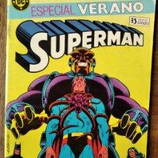 Comics : SUPERMAN ESPECIAL VERANO, ALAN MOORE, CON EL HOMBRE QUE LO TENIA TODO & LOS LIMITES DE LA JUNGLA. Lote 216480247