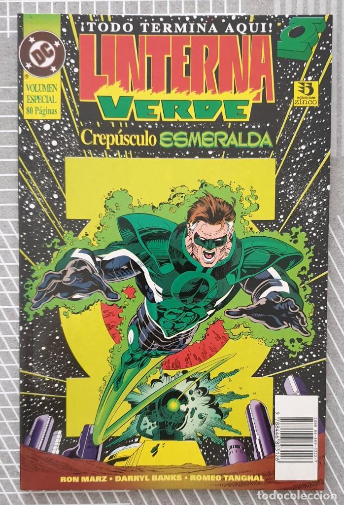 LINTERNA VERDE: CREPUSCULO ESMERALDA. TOMO UNICO. EDICIONES ZINCO 1995 (Tebeos y Comics - Zinco - Prestiges y Tomos)
