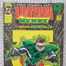Cómics: LINTERNA VERDE: CREPUSCULO ESMERALDA. TOMO UNICO. EDICIONES ZINCO 1995. Lote 216638697