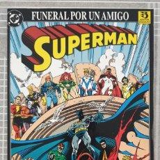 Cómics: SUPERMAN. FUNERAL POR UN AMIGO. TOMO UNICO. EDICIONES ZINCO 1993. Lote 216701566