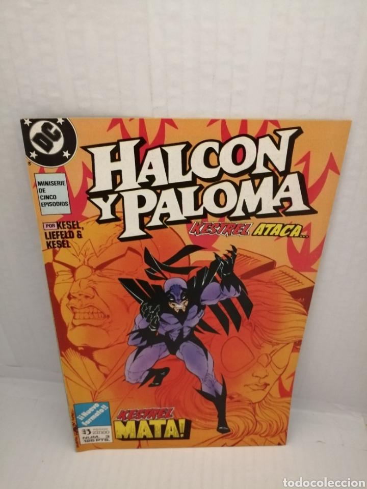 Cómics: HALCON Y PALOMA (Miniserie de 5 episodios completa) Primera edicion - Foto 2 - 216849097