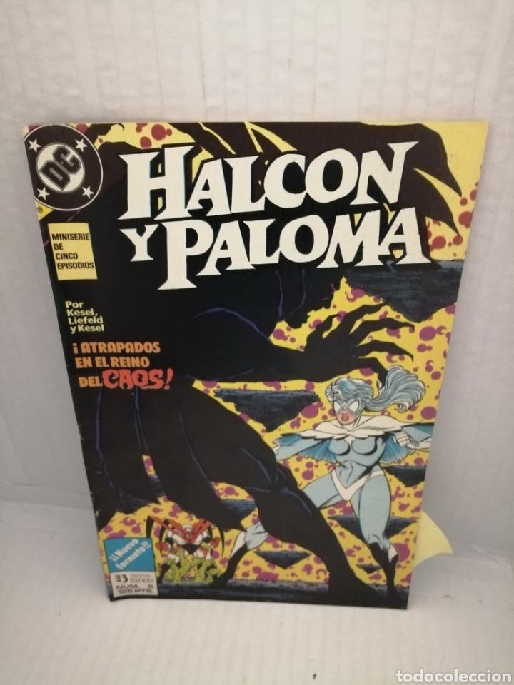 Cómics: HALCON Y PALOMA (Miniserie de 5 episodios completa) Primera edicion - Foto 3 - 216849097