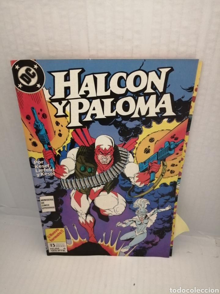 Cómics: HALCON Y PALOMA (Miniserie de 5 episodios completa) Primera edicion - Foto 4 - 216849097