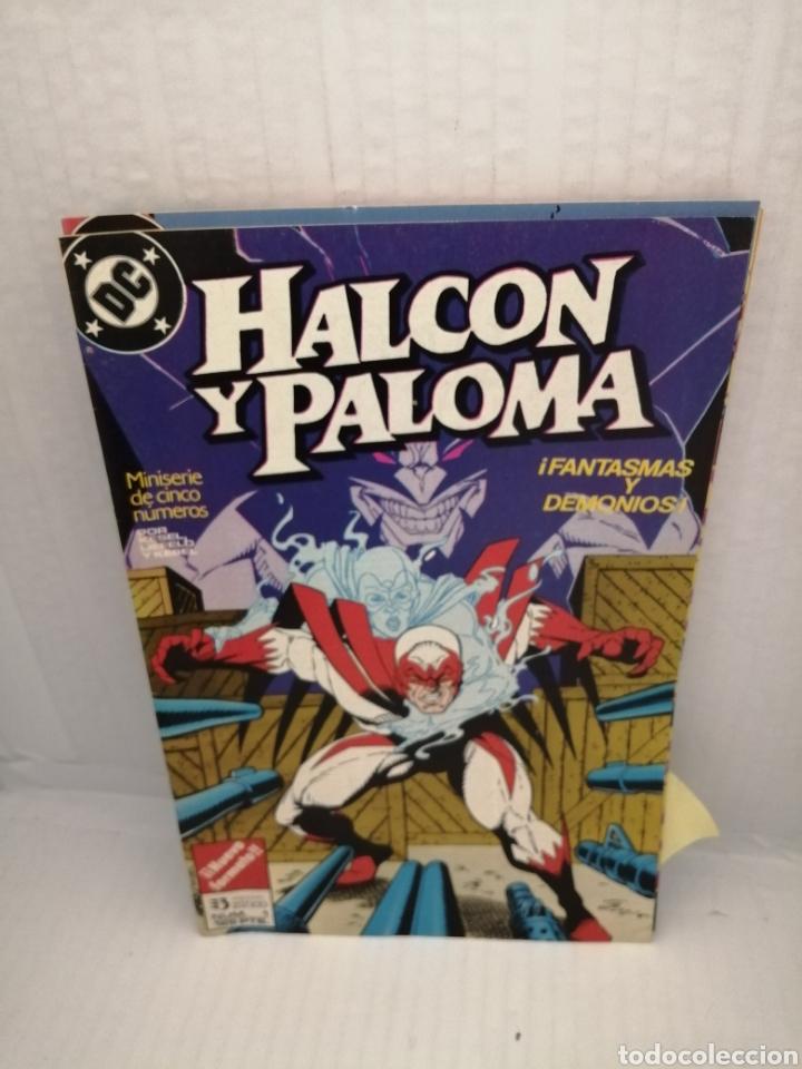 Cómics: HALCON Y PALOMA (Miniserie de 5 episodios completa) Primera edicion - Foto 5 - 216849097