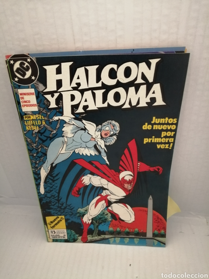 Cómics: HALCON Y PALOMA (Miniserie de 5 episodios completa) Primera edicion - Foto 6 - 216849097