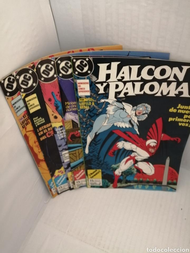 Cómics: HALCON Y PALOMA (Miniserie de 5 episodios completa) Primera edicion - Foto 7 - 216849097