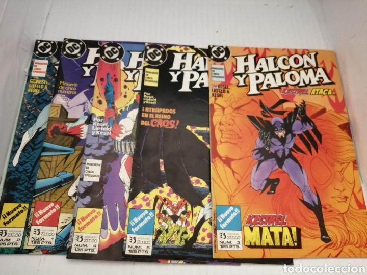 HALCON Y PALOMA (MINISERIE DE 5 EPISODIOS COMPLETA) PRIMERA EDICION (Tebeos y Comics - Zinco - Otros)