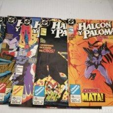 Cómics: HALCON Y PALOMA (MINISERIE DE 5 EPISODIOS COMPLETA) PRIMERA EDICION. Lote 216849097