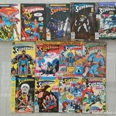 Cómics: SUPERMAN V2 COLECCIÓN COMPLETA DE 123 COMICS + 8 ESPECIALES EDICIONES ZINCO 1987. Lote 217018640