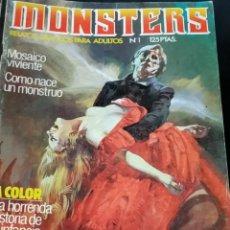 Cómics: COLECCION COMPLETA - MONSTERS - Nº 1 AL Nº 24 - EDICIONES ZINCO -. Lote 217118897
