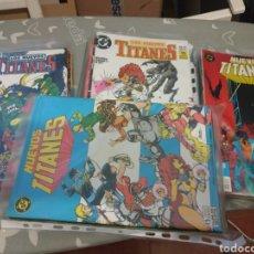 Cómics: NUEVOS TITANES VOL.1 50 NÚMEROS COMPLETA EDICIONES ZINCO. Lote 217146140