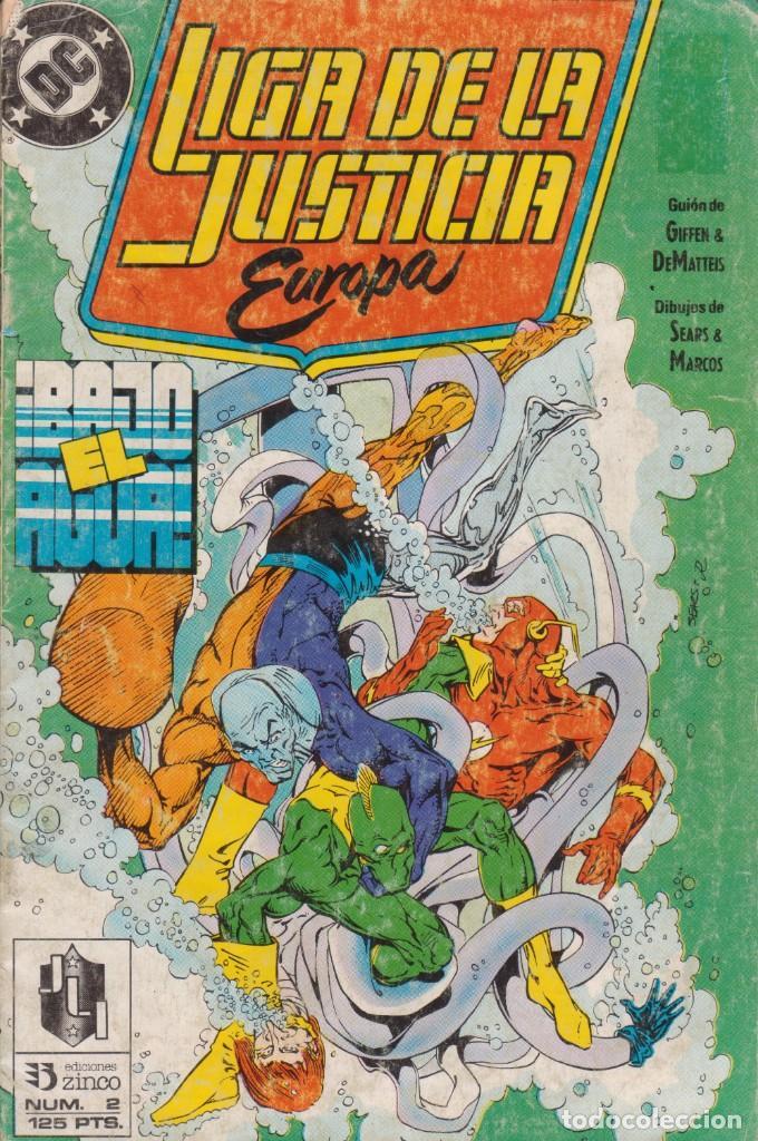 CÓMIC DC LIGA DE LA JUSTICIA EUROPA Nº 2 ED, ZINCO (Tebeos y Comics - Zinco - Otros)