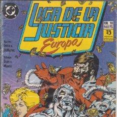 Cómics: CÓMIC DC LIGA DE LA JUSTICIA EUROPA Nº 10 ED, ZINCO. Lote 217176702