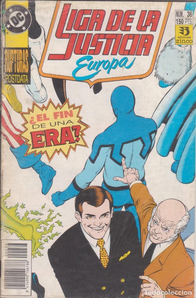 CÓMIC DC LIGA DE LA JUSTICIA EUROPA Nº 36 ED, ZINCO (Tebeos y Comics - Zinco - Otros)