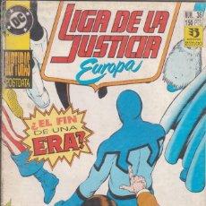 Cómics: CÓMIC DC LIGA DE LA JUSTICIA EUROPA Nº 36 ED, ZINCO. Lote 217176805