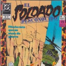 Cómics: CÓMIC DC EL SOLDADO DESCONOCIDO Nº 3 ED, ZINCO. Lote 217176926