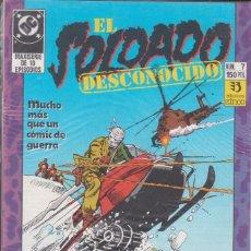 Cómics: CÓMIC DC EL SOLDADO DESCONOCIDO Nº 7 ED, ZINCO. Lote 217176987