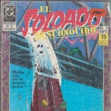 Cómics: CÓMIC DC EL SOLDADO DESCONOCIDO Nº 9 ED, ZINCO. Lote 217177018