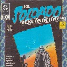 Cómics: CÓMIC DC EL SOLDADO DESCONOCIDO Nº 10 ESPECIAL 52 PGS.ED, ZINCO. Lote 217177065
