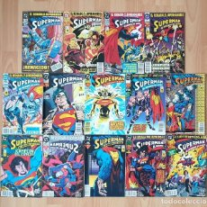 Cómics: SUPERMAN. EL HOMBRE DE ACERO. COLECCIÓN COMPLETA DE 14 COMICS. ZINCO 1993. Lote 217199781