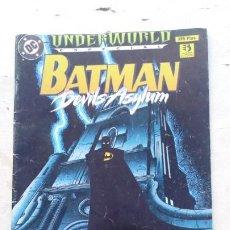 Cómics: BATMAN UNDERWORLD DEVILS ASYLUM ZINCO. Lote 217271667