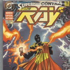 Cómics: SUPERMAN CONTRA THE RAY - TOMO UNICO - PRECINTADO A ESTRENAR !!. Lote 246439185