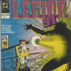 Cómics: LEGION 91 92 - 15 NºS - COMPLETA EN TRES RETAPADOS - ED. ZINCO- NUEVOS. Lote 246439145
