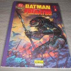 Cómics: BATMAN CONTRA PREDATOR NUMERO 1. Lote 217370437