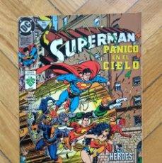 Cómics: SUPERMAN Nº 253: PÁNICO EN EL CIELO - EDITORIAL VID. Lote 217488296
