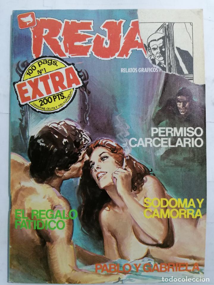 REJAS Nº 1, EXTRA, RELATOS GRAFICOS PARA ADULTOS (Tebeos y Comics - Zinco - Otros)
