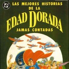 Cómics: LAS MEJORES HISTORIAS DE LA EDAD DORADA JAMÁS CONTADAS - ZINCO. Lote 217724146