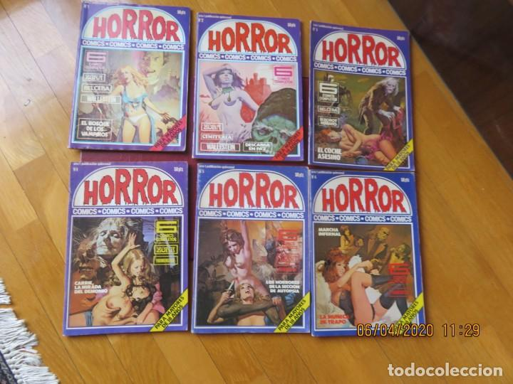 HORROR (ZINCO) LOTE DEL 1 AL 6. (Tebeos y Comics - Zinco - Otros)