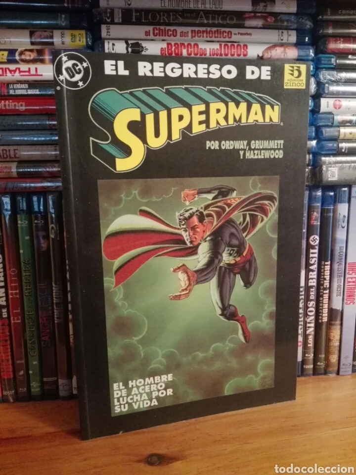 EL REGRESO DE SUPERMAN TOMITO ZINCO (Tebeos y Comics - Zinco - Superman)