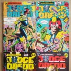 Cómics: LOTE JUDGE DREDD/JUEZ DREDD NÚMEROS 12-13-14-15 (ZINCO, 1985). WAGNER, MCMAHON, BOLLAND, MILLS.... Lote 217918415