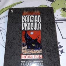 Comics: BATMAN Y DRÁCULA LLUVIA ROJA. Lote 217924821