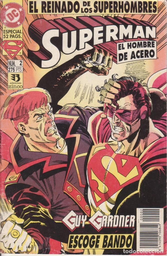 CÓMIC DC SUPERMAN - EL REINADO DE LOS SUPERHEROES Nº 2 ED. ZINCO. 52 PGS. (Tebeos y Comics - Zinco - Superman)