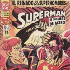 Cómics: CÓMIC DC SUPERMAN - EL REINADO DE LOS SUPERHEROES Nº 2 ED. ZINCO. 52 PGS.. Lote 217956447