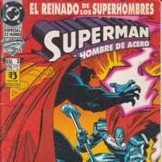 Cómics: CÓMIC DC SUPERMAN - EL REINADO DE LOS SUPERHEROES Nº 3 ED. ZINCO. 52 PGS.. Lote 217956512