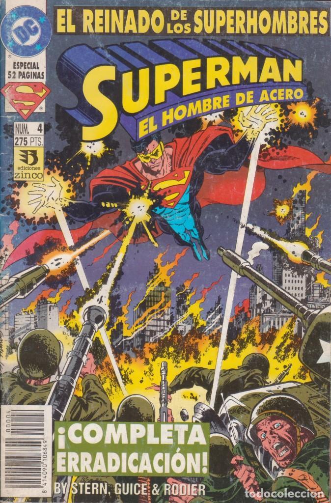 CÓMIC DC SUPERMAN - EL REINADO DE LOS SUPERHEROES Nº 4 ED. ZINCO. 52 PGS. (Tebeos y Comics - Zinco - Superman)
