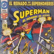 Cómics: CÓMIC DC SUPERMAN - EL REINADO DE LOS SUPERHEROES Nº 4 ED. ZINCO. 52 PGS.. Lote 217956571