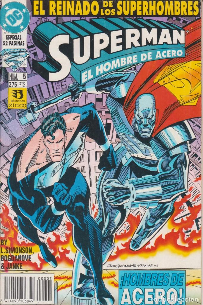 CÓMIC DC SUPERMAN - EL REINADO DE LOS SUPERHEROES Nº 5 ED. ZINCO. 52 PGS. (Tebeos y Comics - Zinco - Superman)