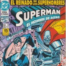 Cómics: CÓMIC DC SUPERMAN - EL REINADO DE LOS SUPERHEROES Nº 5 ED. ZINCO. 52 PGS.. Lote 217956596