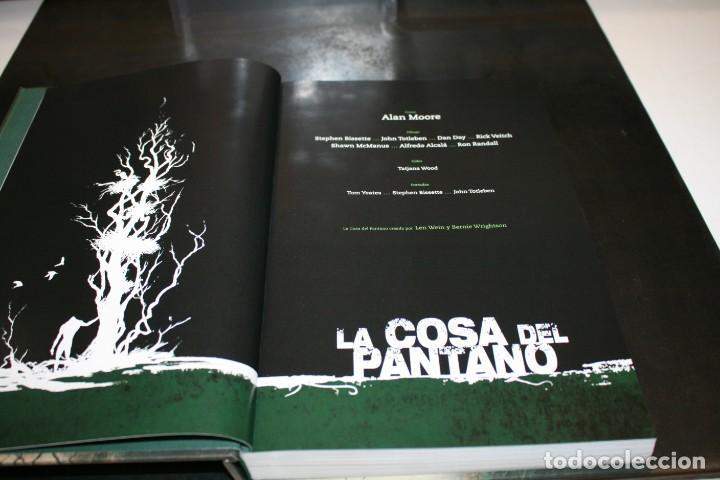 Cómics: La Cosa del Pantano Vol.1 Alan Moore Stephen Bissette John Totleben ECC - Vertigo - Foto 9 - 217987061