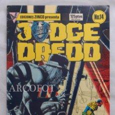 Cómics: JUDGE DREDD - Nº 14 - EDICIONES ZINCO - 1984. Lote 218001411